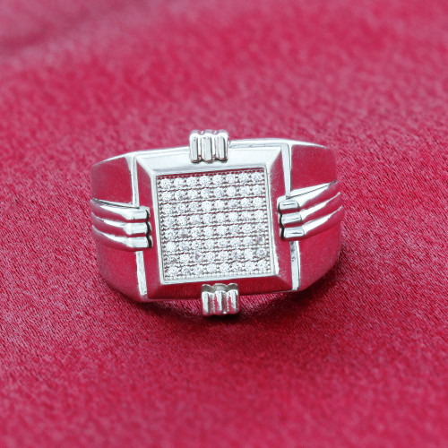 Clear cubic zirconia Rings