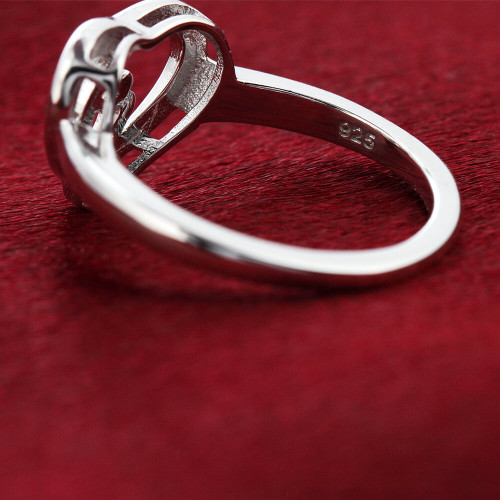 Mother and Child Heart Ring