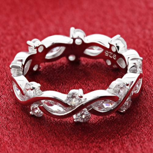 Cubic Zirconia Band
