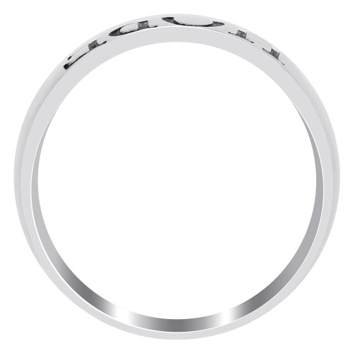 Sterling Silver Hope Engraved Band