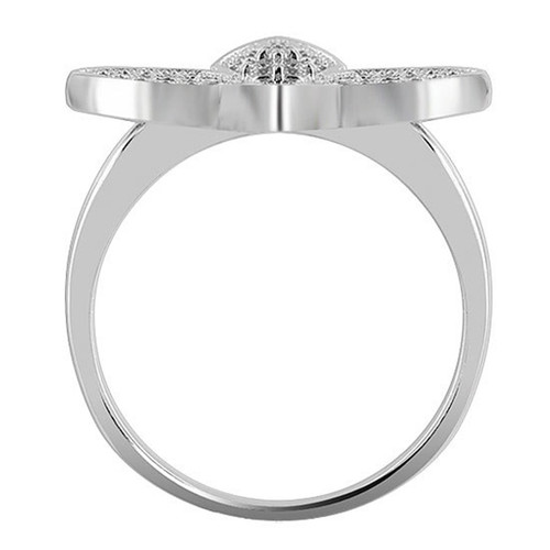 Sterling Silver Cubic Zirconia Ring