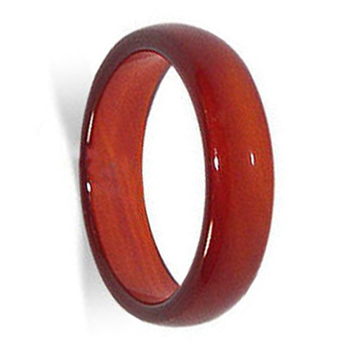Carnelian Gemstone 6mm Band