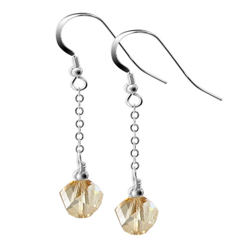 Swarovski Elements Crystal Dangle Earrings