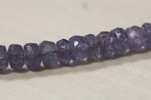 Faceted Tanzanite Beads for Jewelry Making