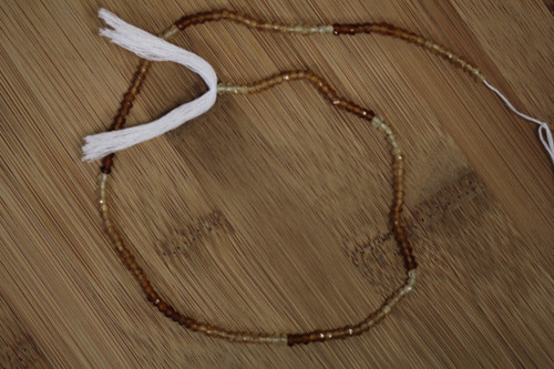 Hessonite Israel Cut 3 to 3,5mm Beads for Jewelry Making - Strand Length 13.75 inch