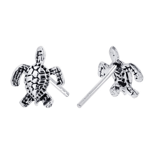 Small Turtle Kids Stud Earrings