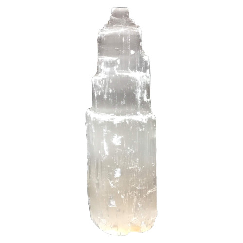 """6"""" Selenite Tower from Morocco"""