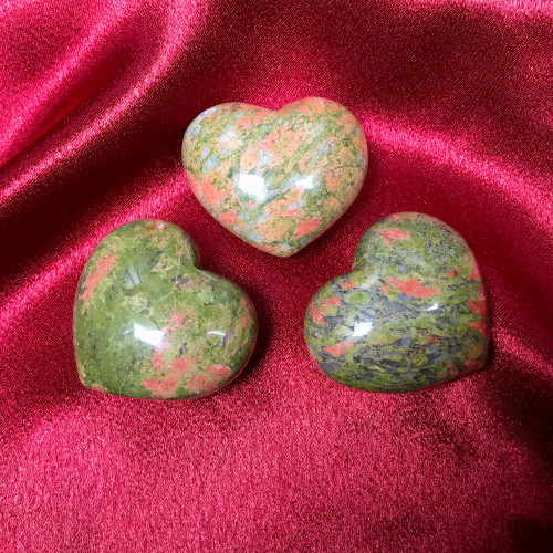 Natural Unakite Gemstone