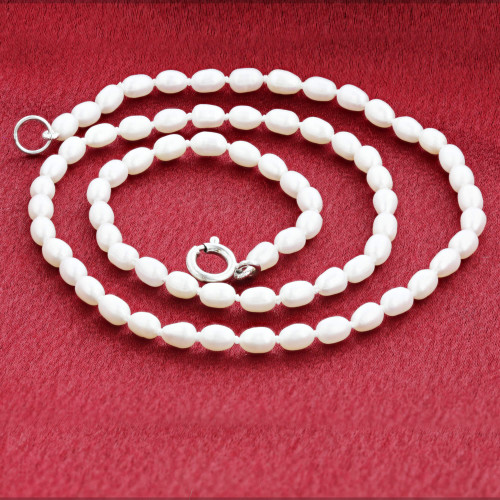 Freshwater Pearl Stainless Steel Necklace