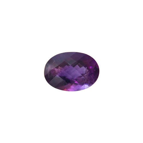 14mm X 10mm Oval Cut Amethyst 6.4 CTW Gemstone Eye Clean Quality