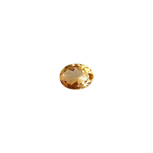 9mm X 7mm Oval Cut 1.35 CTW Citrine Gemstone Eye Clean Quality