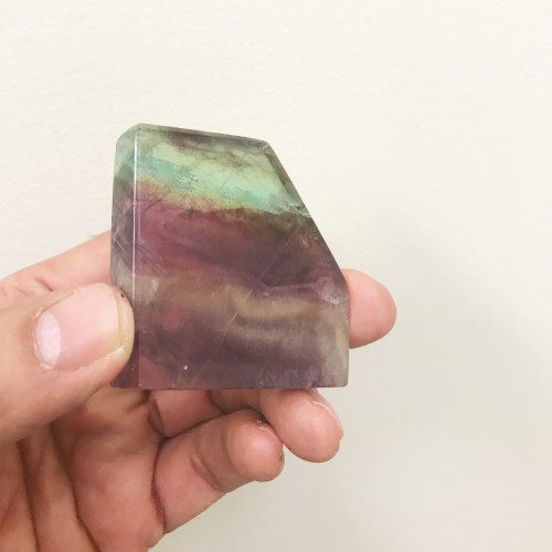 Fluorite Gemstone Slab