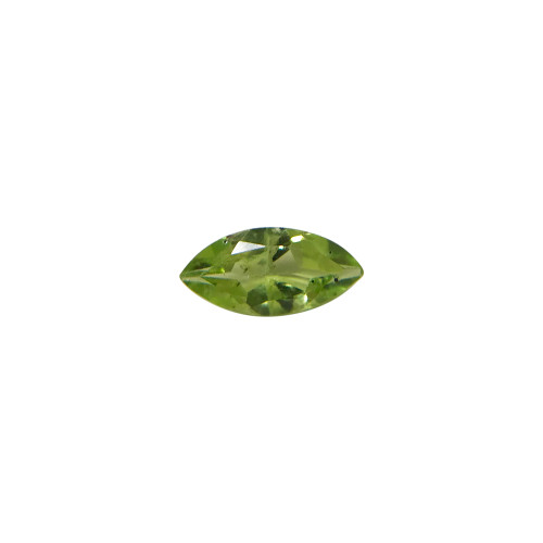 Faceted Cut Marquise Natural Green Peridot