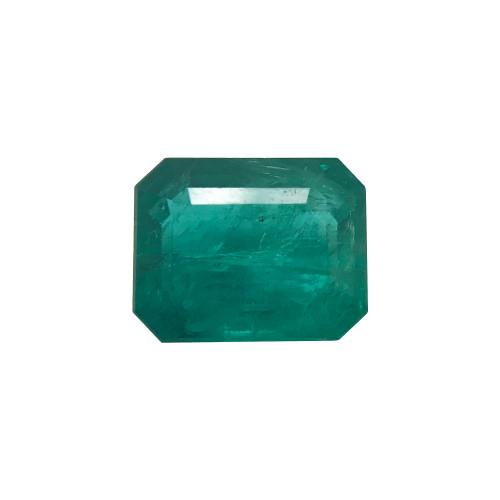 9.5mm x 7.5mm Natural Green Emerald 2.95 CTW Gemstone