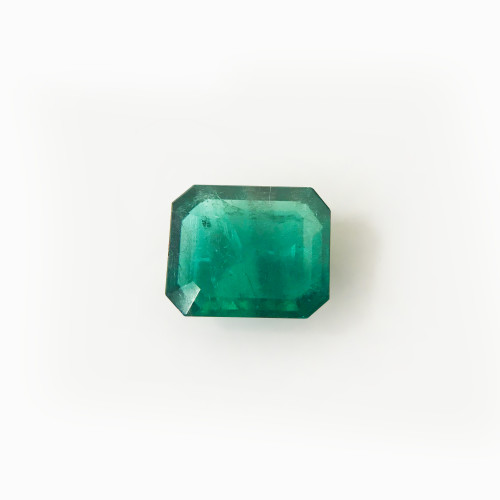 10mm x 8mm Natural Green Emerald 3.05 CTW Gemstone