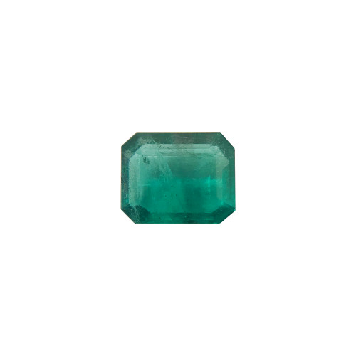 10mm x 8mm Natural Green Emerald 3 CTW Gemstone