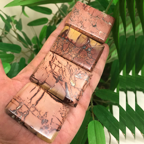 Colorful Natural Mookaite Picture Jasper