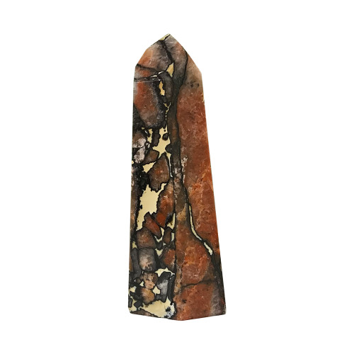 4.9 inch Self-standing Natural Multi Stone Point Obelisk Point 10 Oz