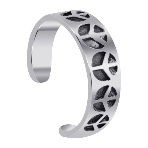 925 Sterling Silver Peace Toe Ring