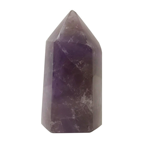 3.2 X 1.7 inches Self Standing Natural Purple Amethyst Obelisk Tower Point