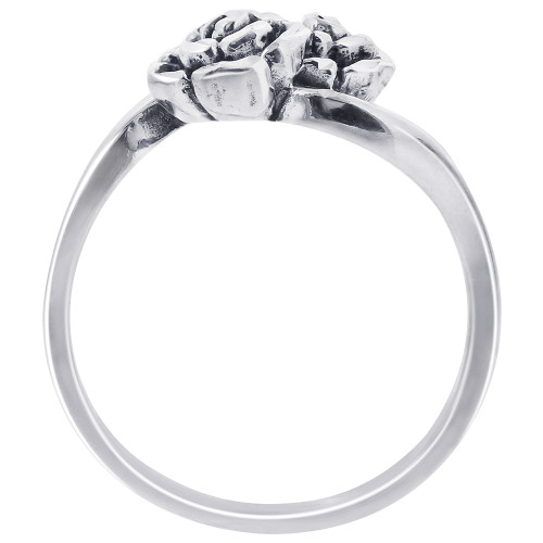 925 Sterling Silver Rose Ring