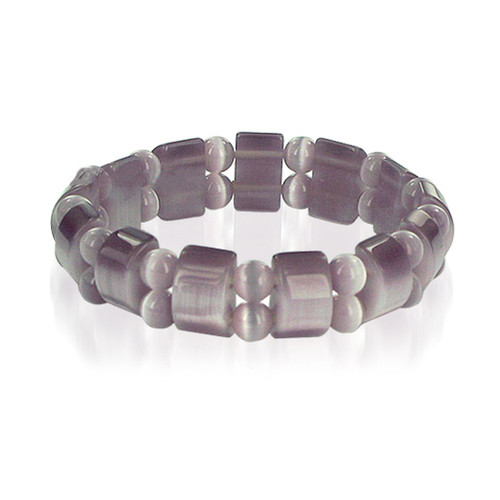 19mm Cats Eye 6 to 7 inch Adjustable Stretchable Bracelet