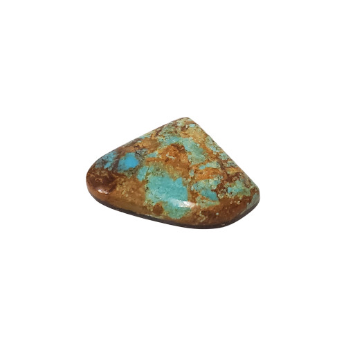 Natural #8 Turquoise 52 Carat Cabochon Gemstone for Jewelry Making