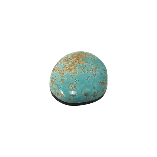 Natural #8 Turquoise 38 Carat Cabochon Gemstone for Jewelry Making DIY
