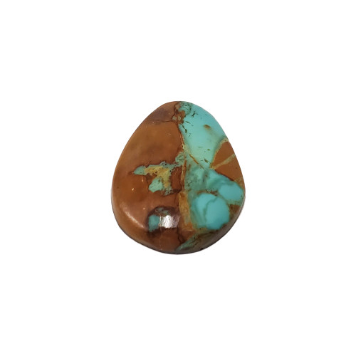 Natural #8 Turquoise 36 Carat Cabochon Gemstone for Jewelry Making DIY