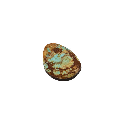 Natural #8 Turquoise 13 CT Cabochon Gemstone for Jewelry Making DIY