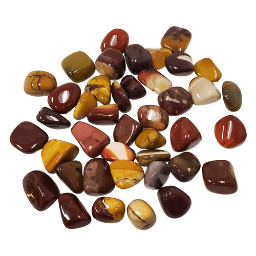 Mookaite Tumbled Stones Healing Crystal Home Decoration