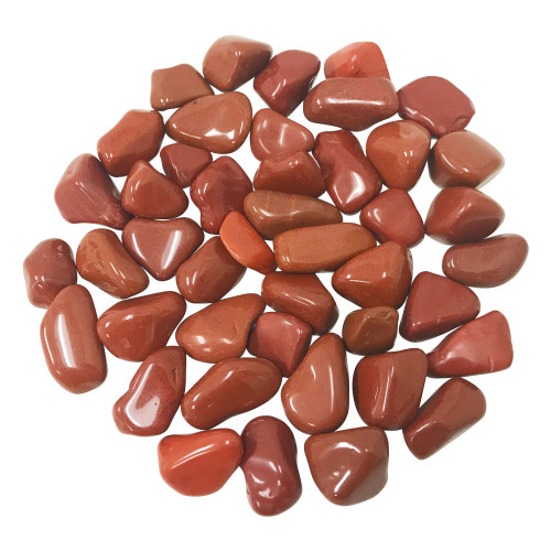 Red Jasper Tumbled Stones Healing Crystal Home Decoration