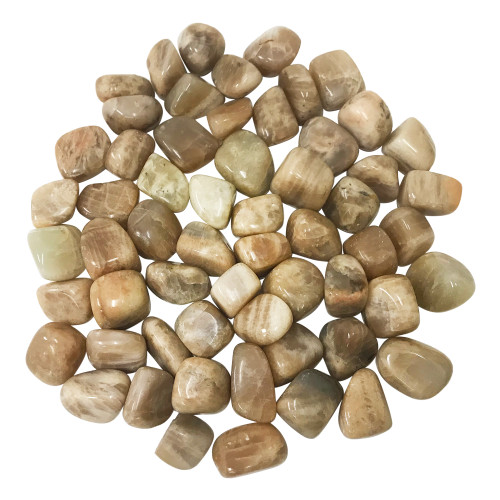 Moonstone Tumbled Stones Healing Crystal Home Decoration