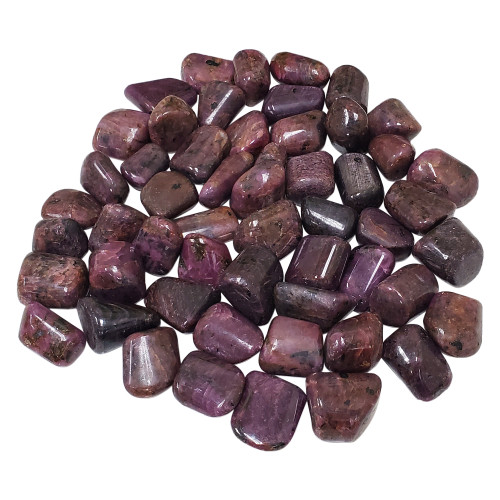 Ruby Tumbled Stones Crystal Home Decoration