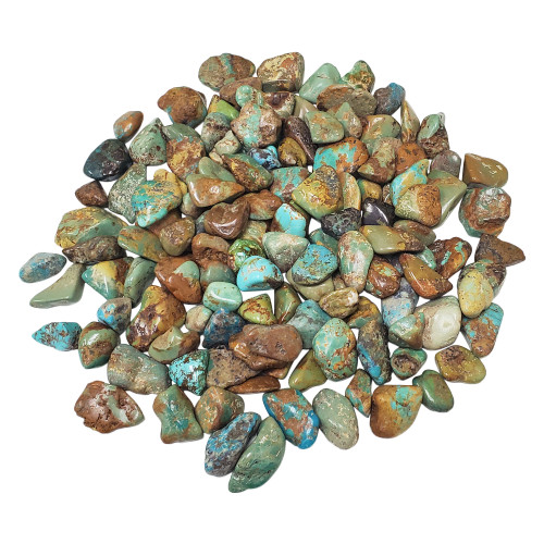 Turquoise Tumbled Stones Crystal Home Decoration
