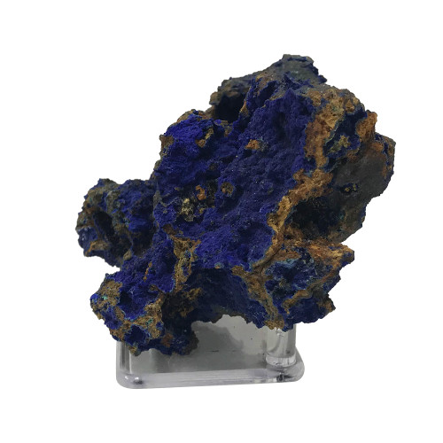 Natural Azurite and Malachite Crystal Mineral