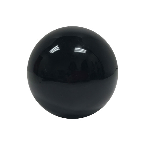 """ONE Piece of Polished Black Obsidian Crystal 2.75"""" Sphere Decor Ball 1.5 Lb"""
