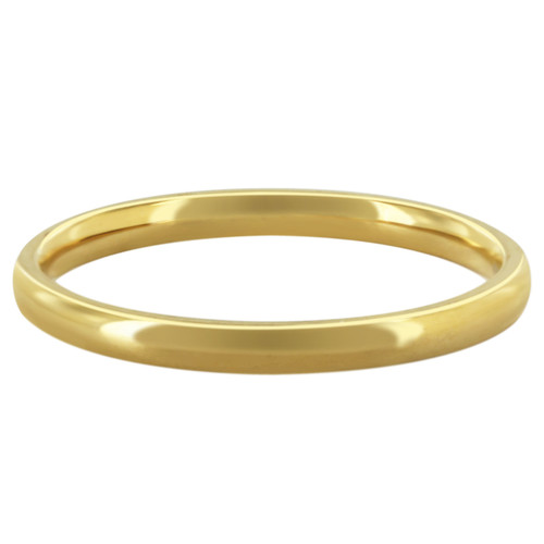 Stainless Steel Wedding Band