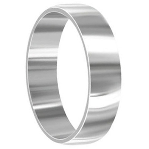 Engravable Stainless Steel 6mm Band