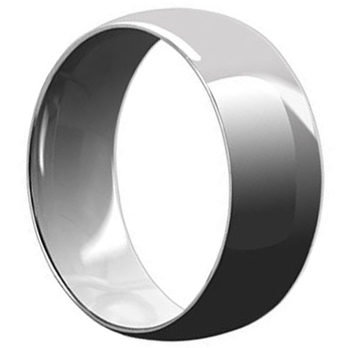 Stainless Steel Engravable 8mm Plain Band