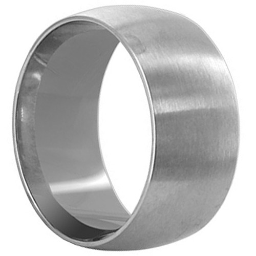 Stainless Steel Engravable Plain 9mm Band