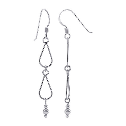 Teardrop Hangings Dangle Earrings