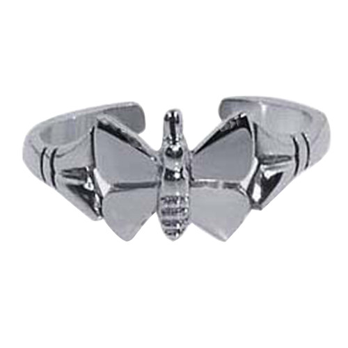 Butterfly Design Toe Ring