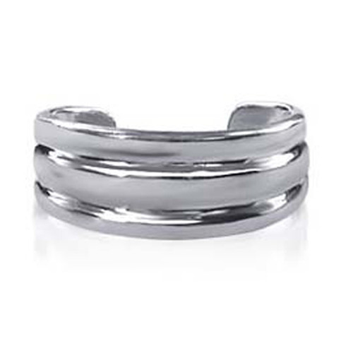 925 Sterling Silver 6mm Toe Ring for Women