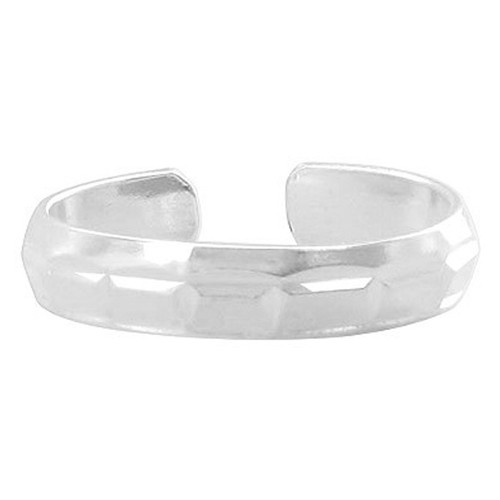 Sterling Silver Fashioned Designer Toe Ring