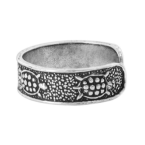 Sterling Silver Turtle Design Toe Ring
