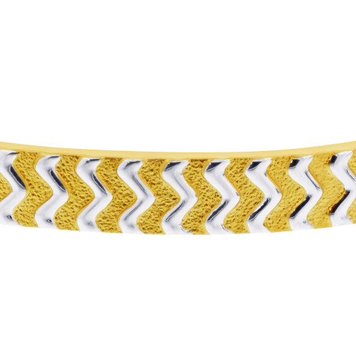 Two Tone Magnetic Therapy Bracelet