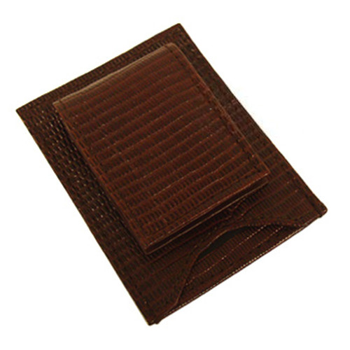 Credit Card Holder Money Clip Wallet Available in Brown