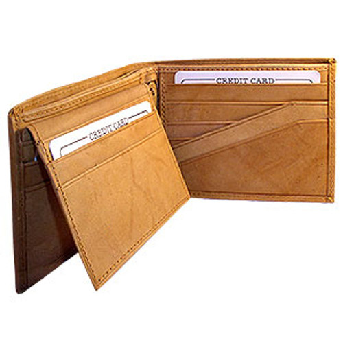 Mens Bifold Flip ID Credit Card Holder Wallet Available in Different Colors