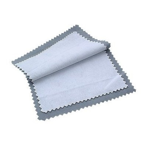 Gold and Silver Jewelry Instant Cleaning and Polishing Cloth Restores Shine 4 Inch x 6.5 Inch